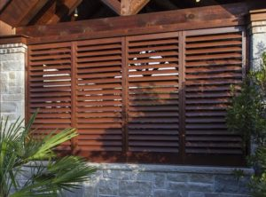 Beautiful Powdercoated Shutters