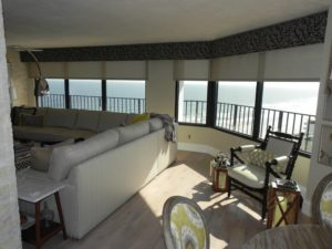 Motorized Shades in a Beachfront Condo
