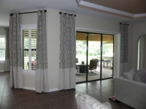 Best Window Treatment for Sliding Glass Doors