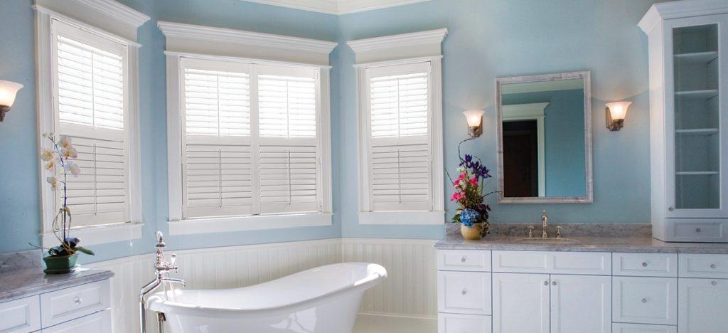 The Best Bathroom Window Treatments Us Verticals
