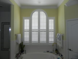 Wood Shutters Suitable Bathrooms