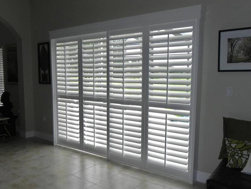 Sliding Door Plantation Shutters(after2)